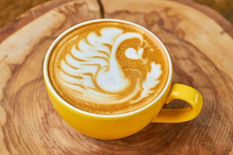 Art de latte de cygne photo stock