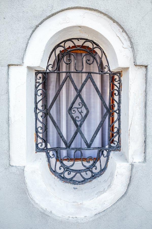 Art de lettre de fenêtre photographie stock libre de droits