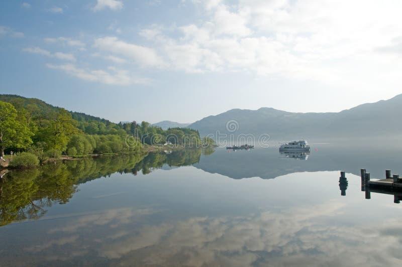 Art de Loch Lomond photographie stock libre de droits