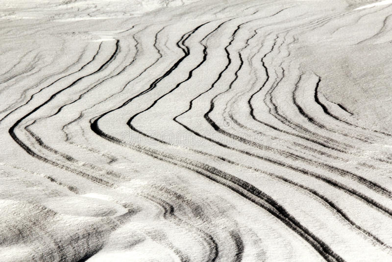 Art de neige image libre de droits