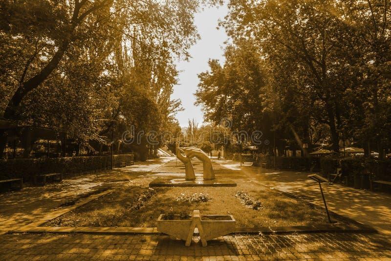 Art de parc d'Erevan image stock