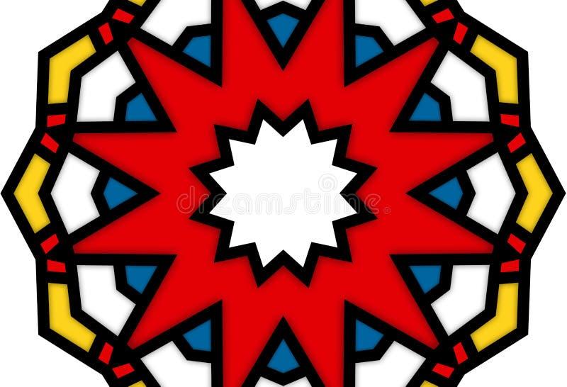 Art de POP de kaléidoscope 896 images stock