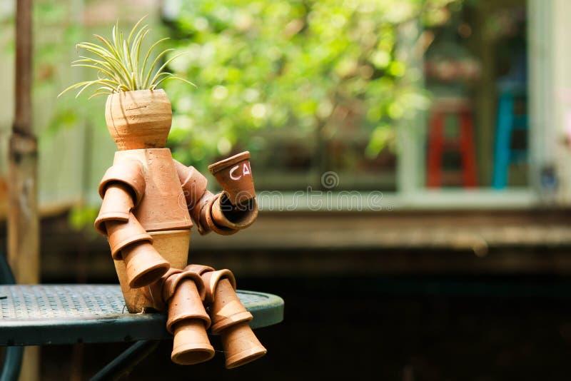 Art de pot photo stock