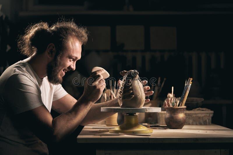Art de poterie, produit d'argile, bâti photo libre de droits