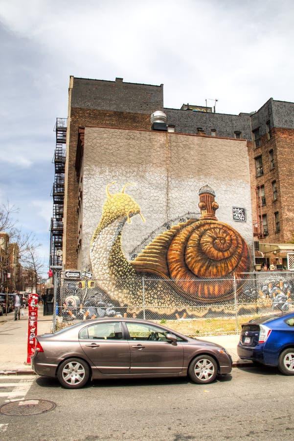 Art de rue à New York City image stock