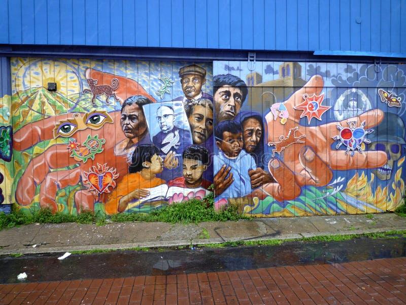 Art de rue à San Francisco image libre de droits