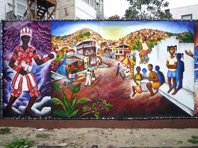 Art de rue à San Francisco photo stock
