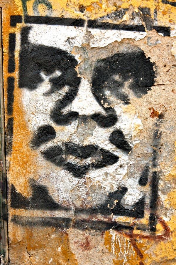 Art de rue - Athènes - Grèce images stock