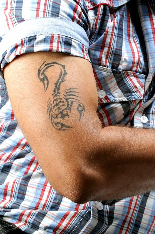 Art de tatouage image stock