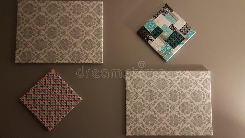 Art de tissu photo libre de droits