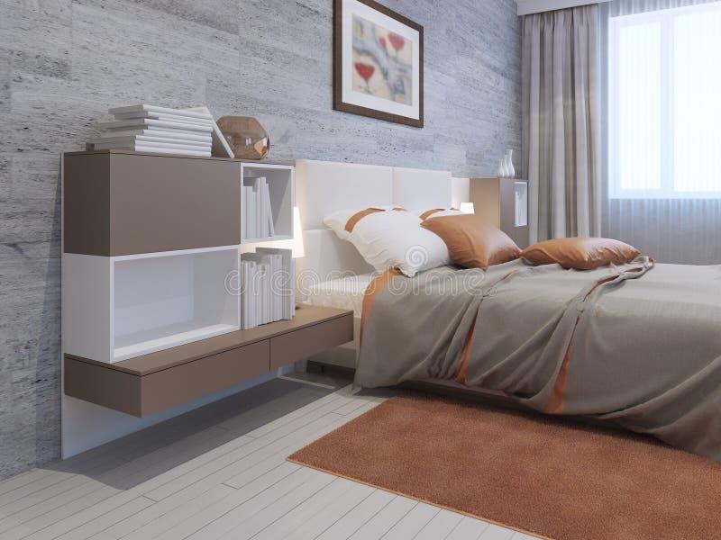 Art deco bedroom furniture stock illustration image 59250792 - Deco room oranje ...