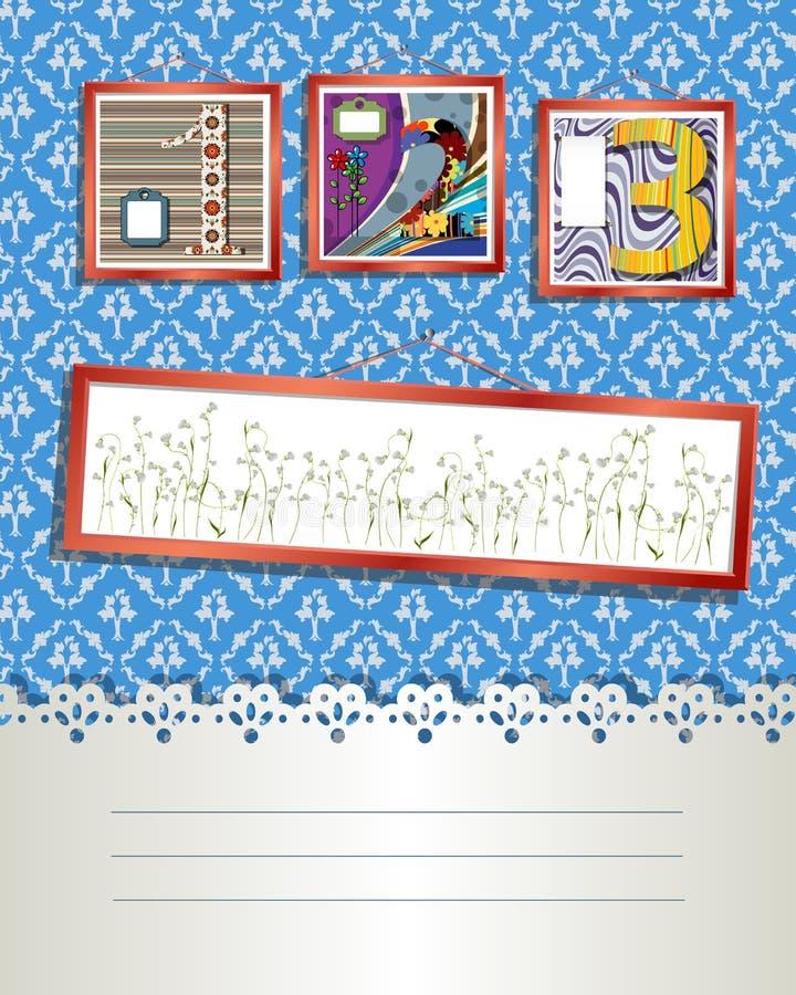 Download Art deco card stock vector. Illustration of artistic - 22694117