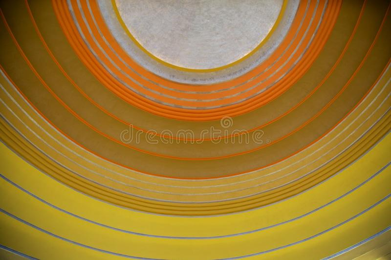 Download Art Deco Ceiling stock photo. Image of rings, train, colorful - 39504000