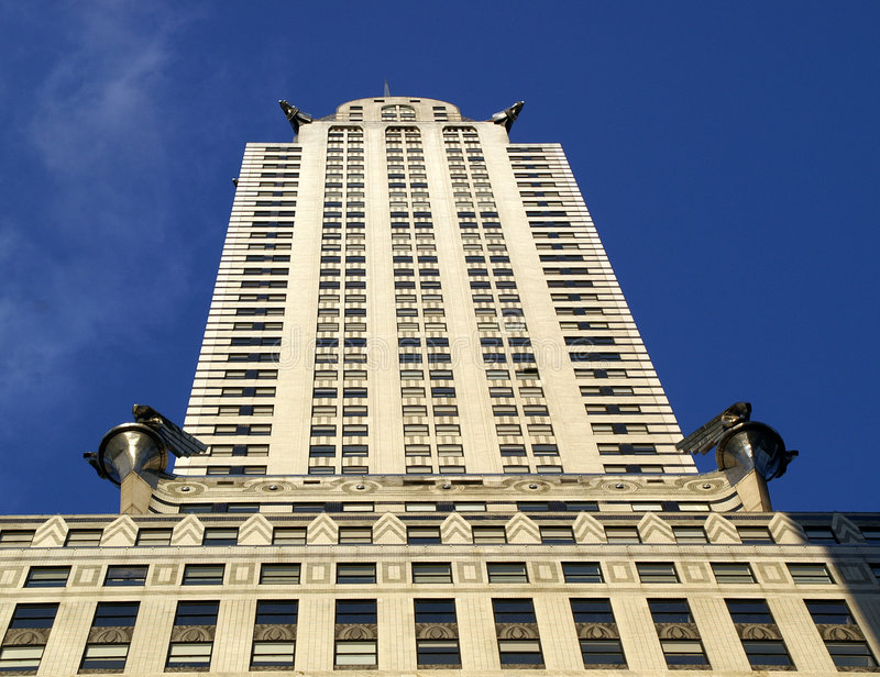 Art Deco Chrysler Building Editorial Photo