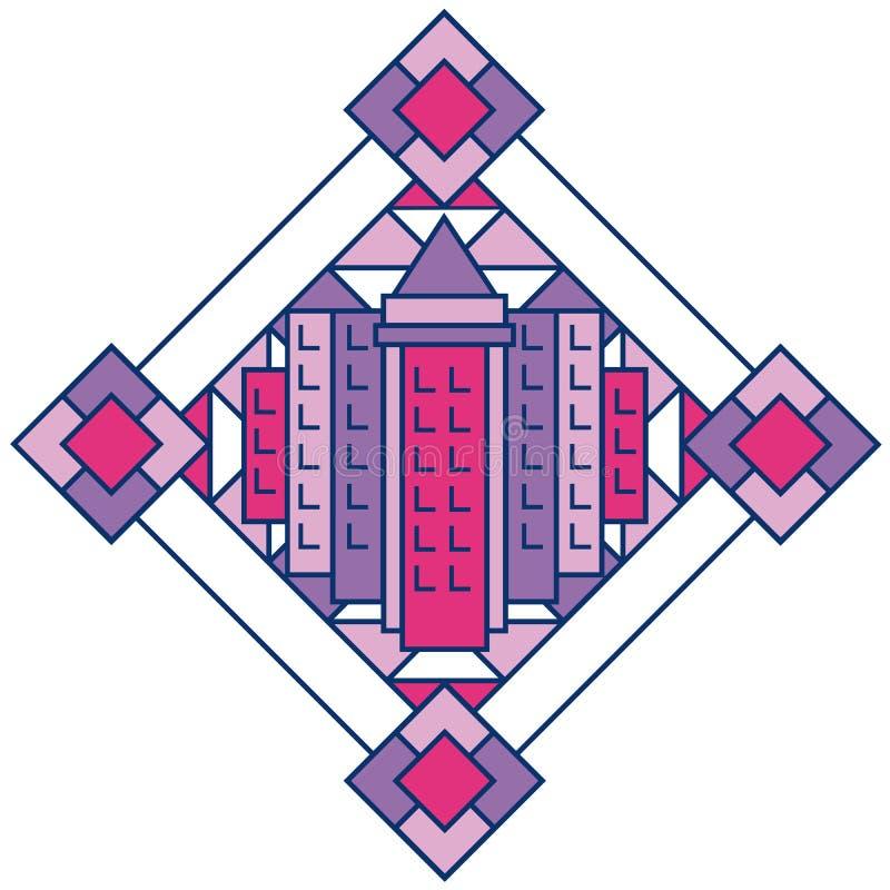 Download Art Deco City 2 stock vector. Image of cityscape, cosmopolitan - 23934181