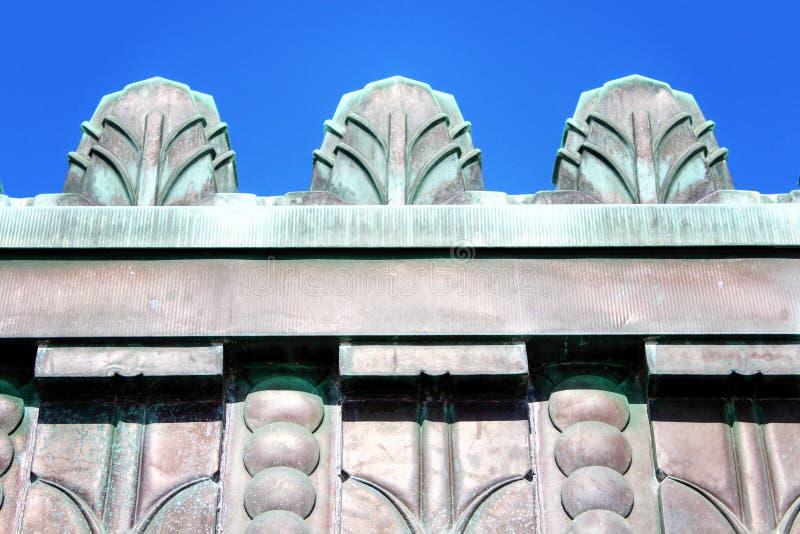 Art Deco Copper photographie stock libre de droits