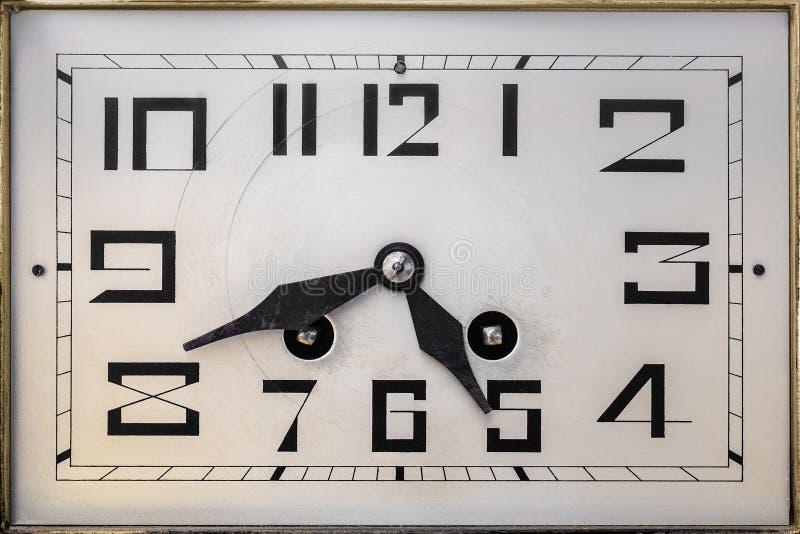 Art deco clockface from the early twentieth century. Art deco design clockface from the early twentieth century royalty free stock photo