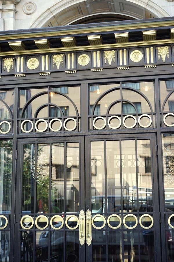 Art Deco Doors royalty-vrije stock foto's