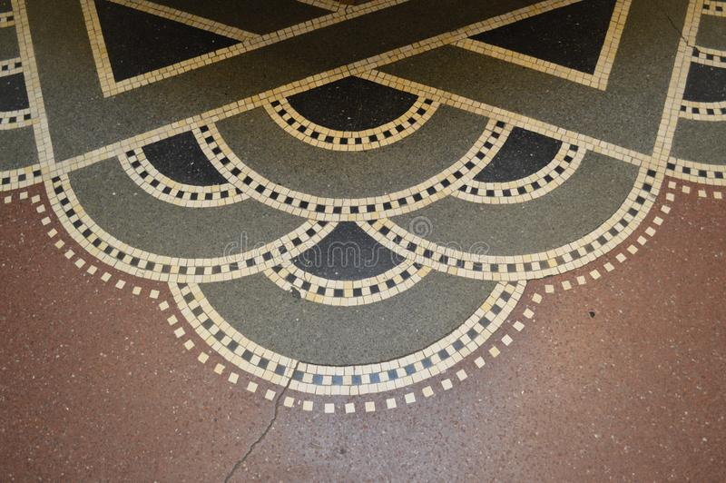 Art Deco Floor en Copenhague imagen de archivo