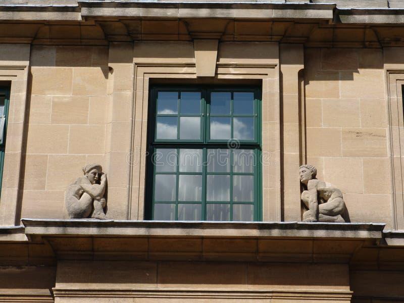 art deco formie stone okno obrazy royalty free