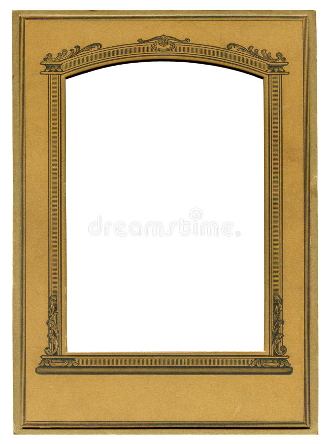 Art deco frame royalty free stock photography