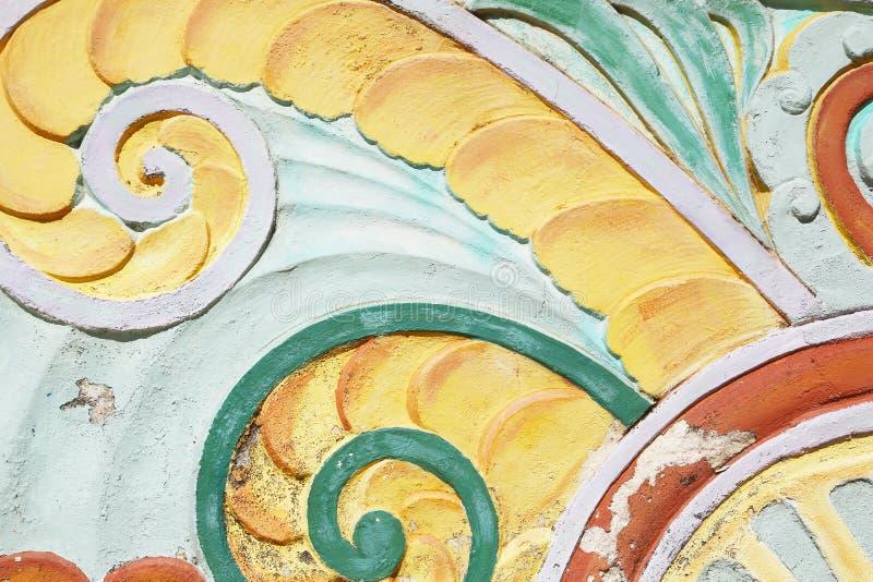 Art Deco-Fries im Ozean-Antrieb, Miami Beach lizenzfreie stockfotografie