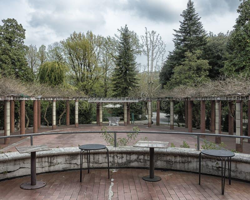 Art deco garden style royalty free stock photos