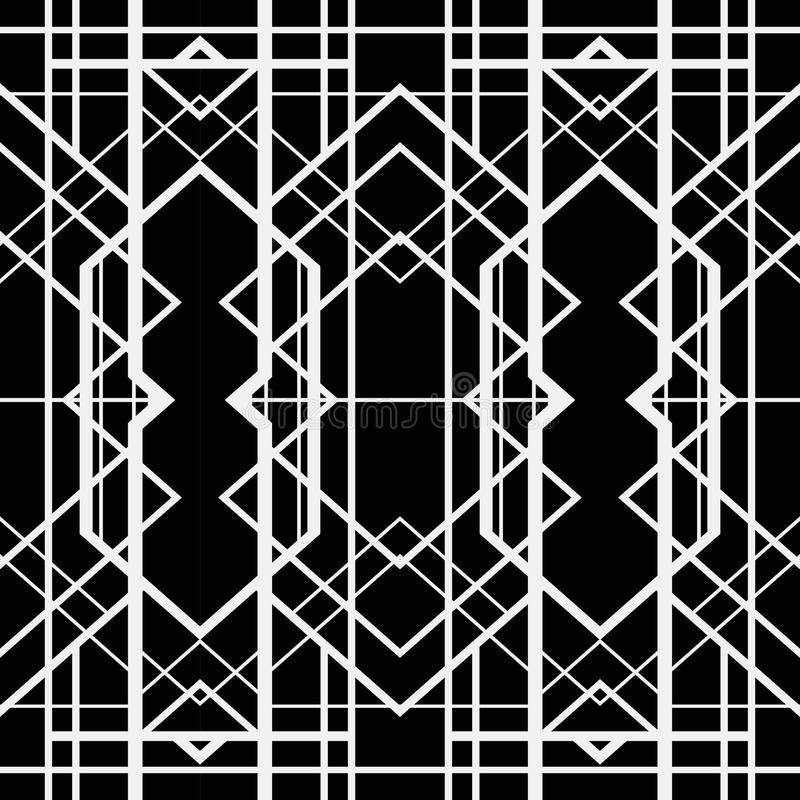 Free Art Deco Geometric Pattern Stock Image - 36417761
