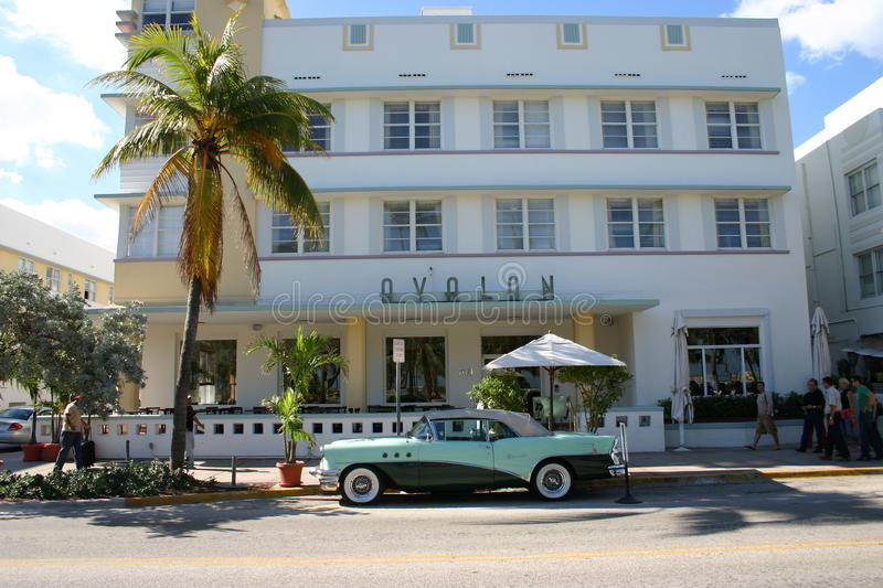 Art Deco Hotel royalty free stock images