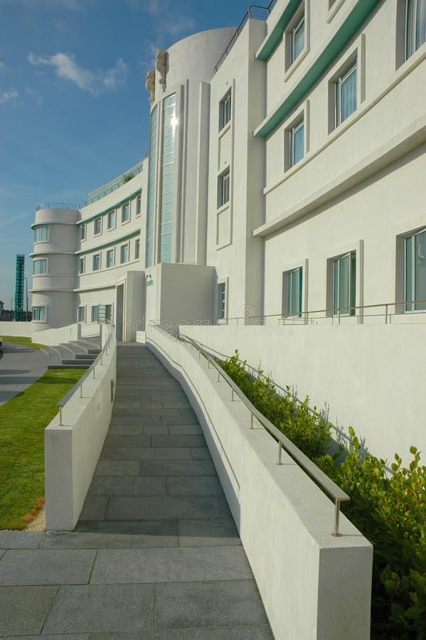 Art Deco Hotel UK royalty free stock photos
