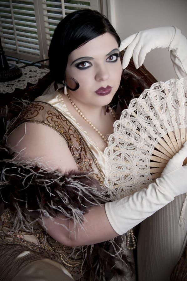 art deco kobieta fotografia royalty free