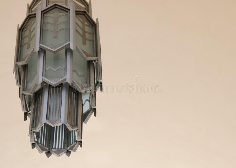 Art Deco Lamp - compensation photos stock