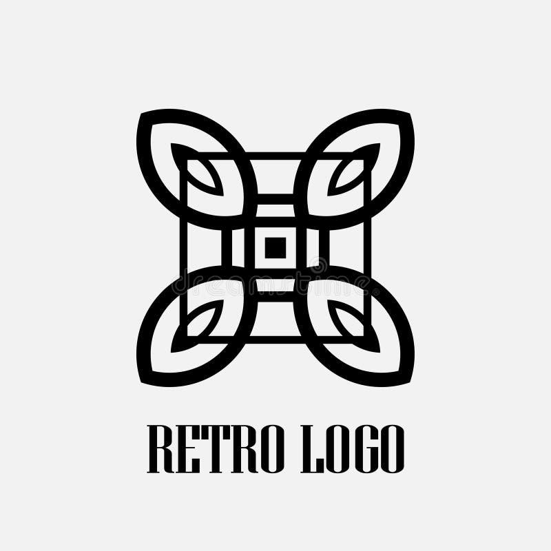 Art Deco logo fotografia royalty free