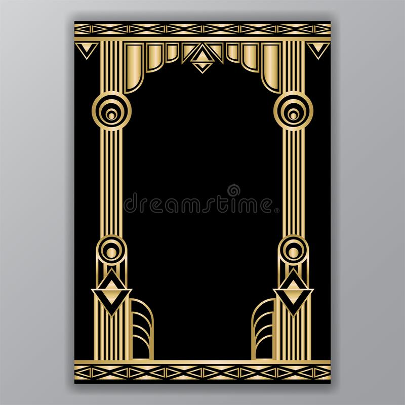 Art deco greece columns motive stock vector illustration of download art deco greece columns motive stock vector illustration of background elegant 113003904 toneelgroepblik Gallery