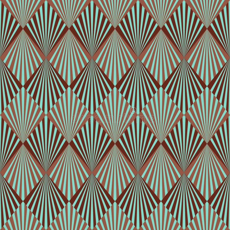 Free Art Deco Pattern Royalty Free Stock Images - 29510109