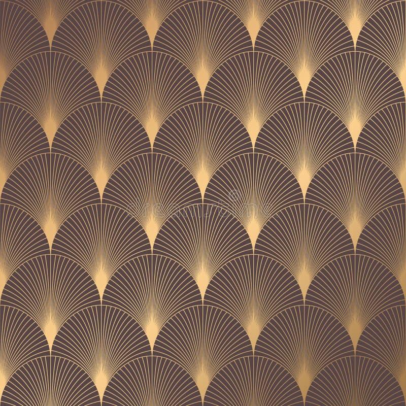 Art Deco Pattern royalty free illustration