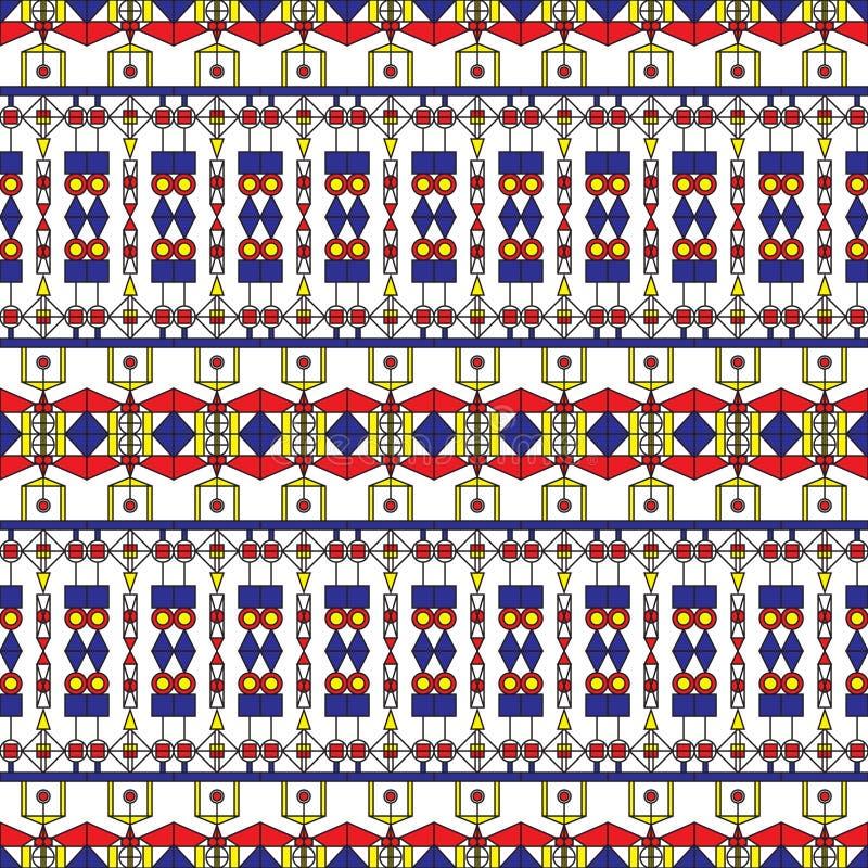 Art Deco Pattern sem emenda ilustração stock