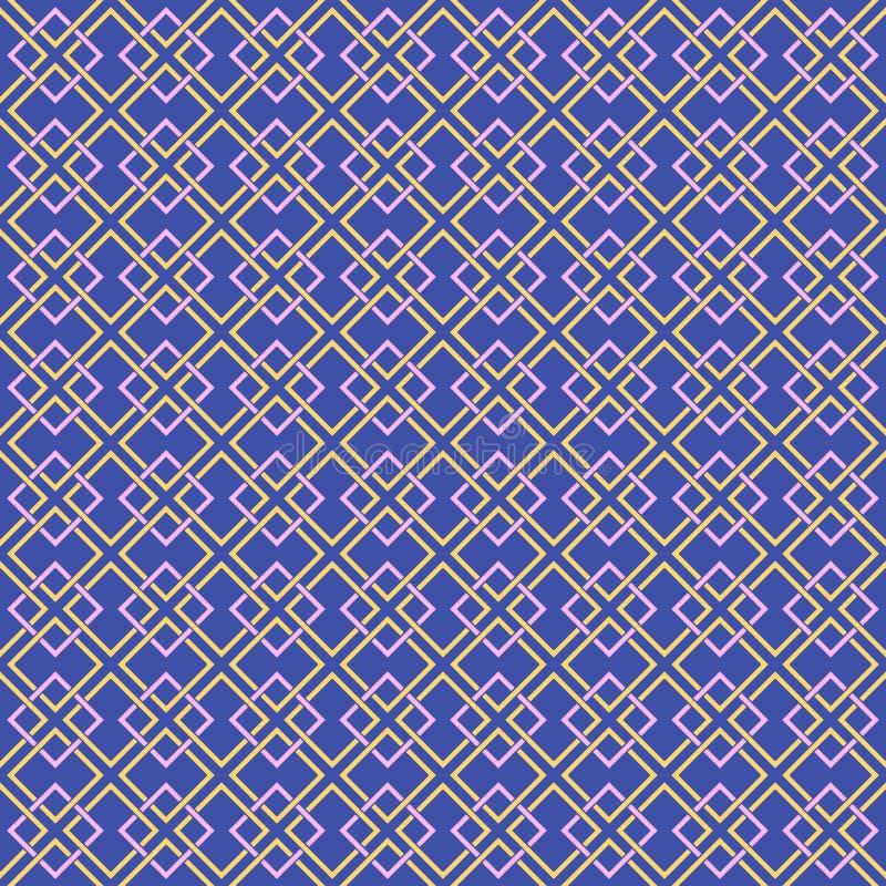Art deco pattern, vintage wallpaper, geometric decorative texture. Vintage art deco vector design background. Art deco pattern, vintage wallpaper pattern stock illustration