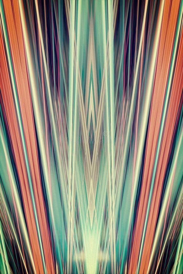 Art Deco riktar uppmärksamheten på bakgrund vektor illustrationer