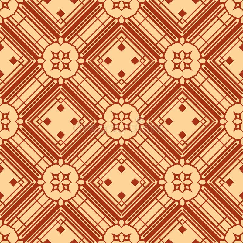 Art Deco seamless pattern. Abstract Art Deco Tiles Seamless Vector Pattern. Geometric texture. Repeating background royalty free stock photos