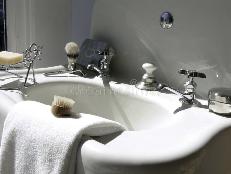 Download Art Deco Sink Stock Photo. Image Of Wash, Artsy, Shave   421906
