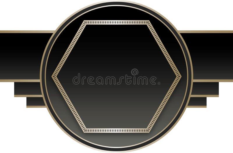 Download Art Deco Stye Badge Royalty Free Stock Photography - Image: 31151447