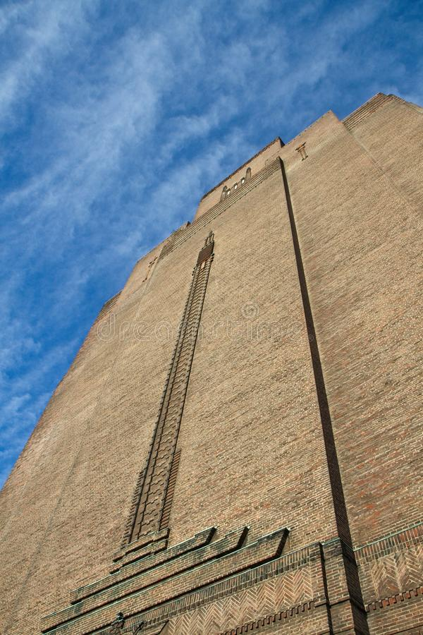 Art Deco tower royalty free stock images