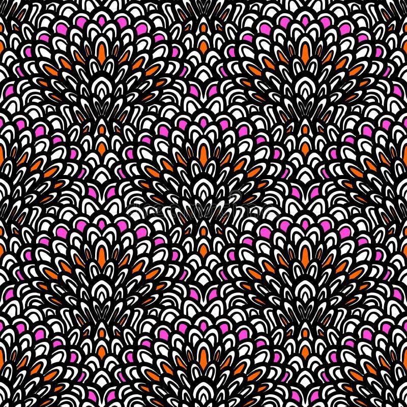 art deco vector floral pattern stock vector image 36178912. Black Bedroom Furniture Sets. Home Design Ideas