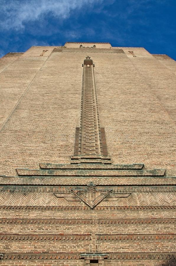 Art Deco tower royalty free stock photography