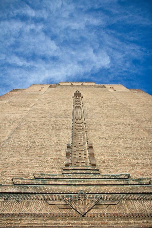 Art Deco tower stock photos