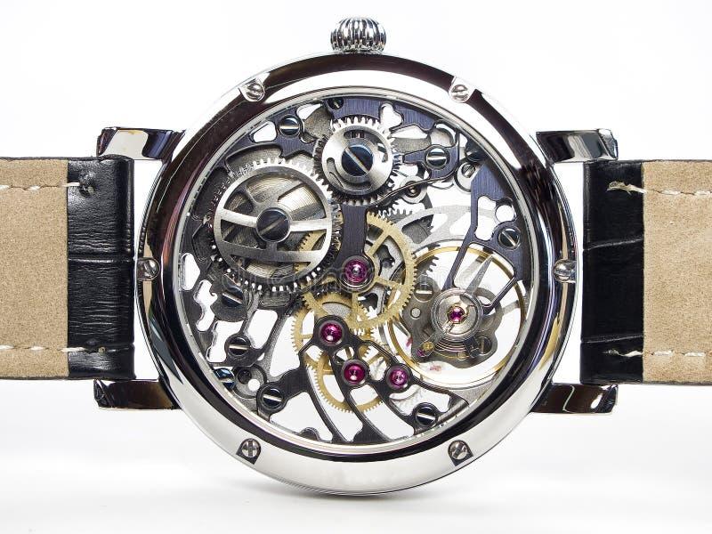 Art Deco Watch - Skeleton Movement