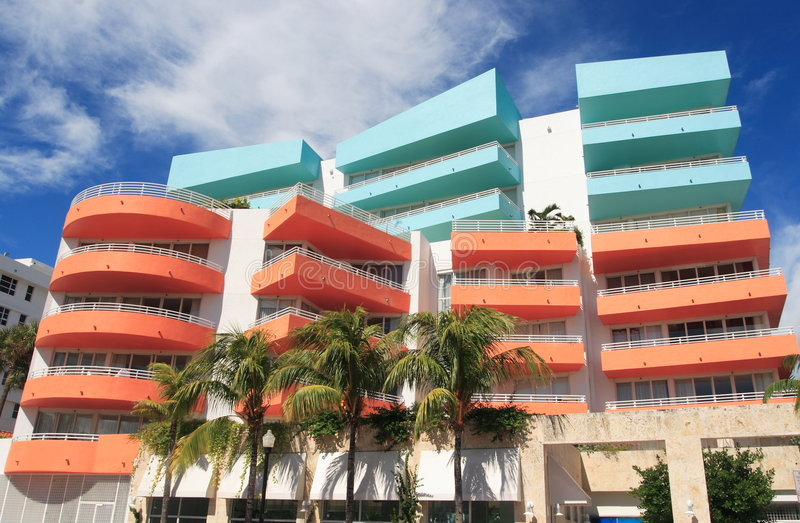 Art- DecoArchitektur Lizenzfreies Stockfoto