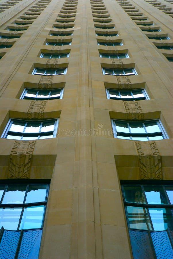 Art- DecoGebäude, NYC stockfoto