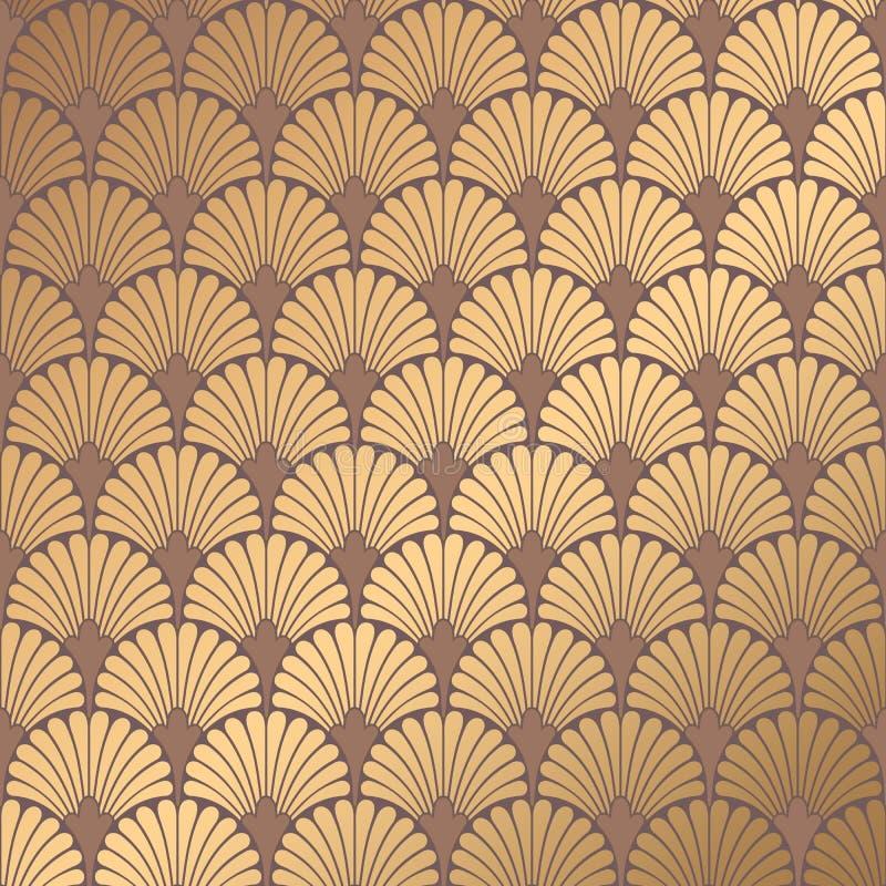 Art DecoMuster vektor abbildung